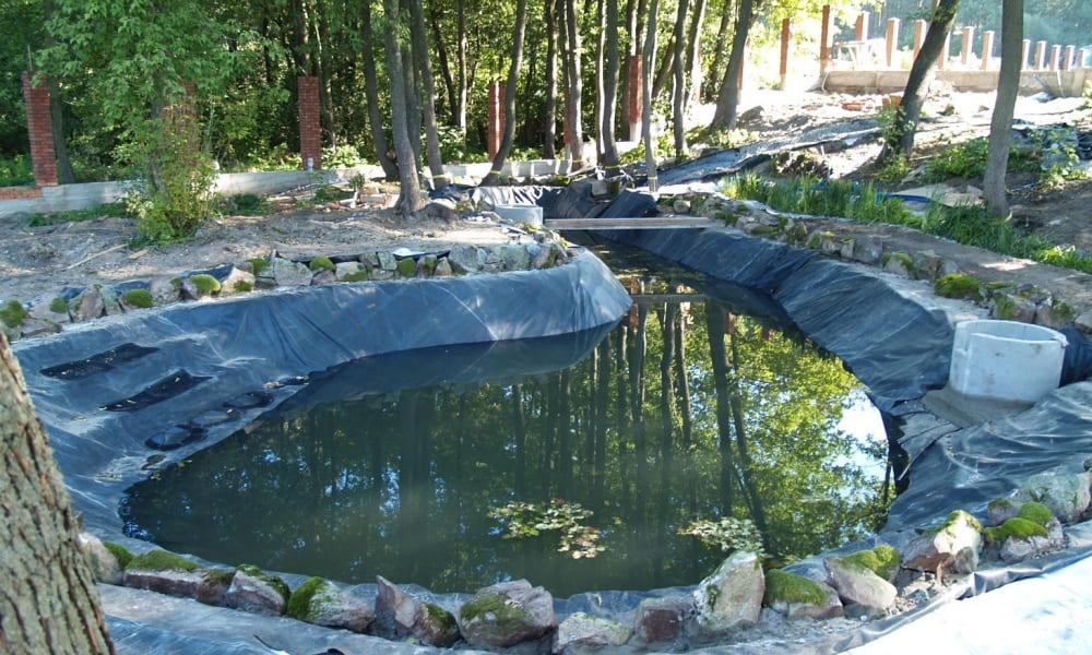 Очистка и углубление озер, водоемов и прудов